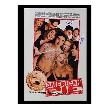 Framed Autographed Poster // American Pie