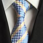 Orion Tie // Gold + Blue