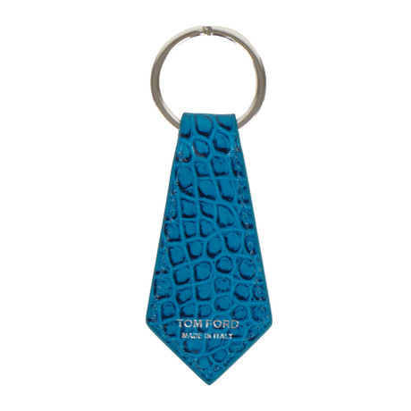 Alligator Key Chain // Turquoise