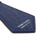 Alligator Key Chain // Avio Blue