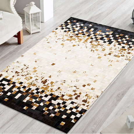 Pampera Rug // Mirror Pyrite (5'L x 8'W)