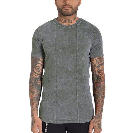 Squario T-Shirt // Olive