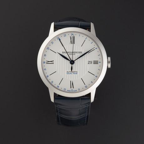 Baume & Mercier Classima Executive Dual Time Automatic // MOA10272 // New