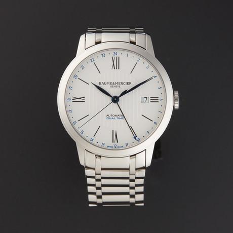 Baume & Mercier Classima Executive Dual Time Automatic // MOA10273 // New