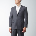 Paolo Lercara // Modern Fit Suit // Medium Gray (US: 38S)