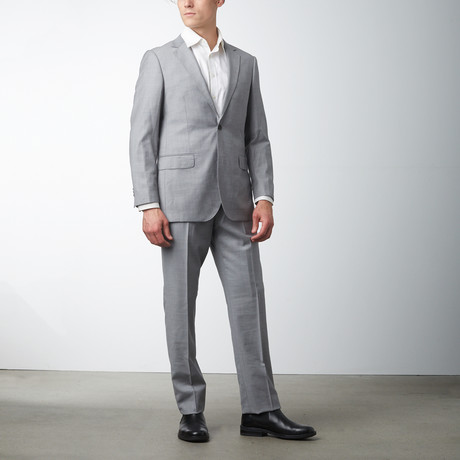 Paolo Lercara // Modern Fit Suit // Light Gray (US: 36S)