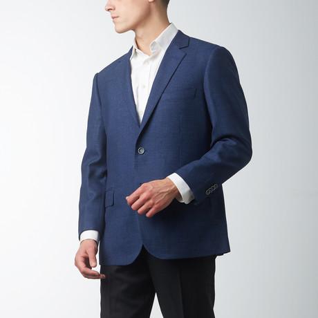 Modern Fit Nailhead Sport Jacket // Navy