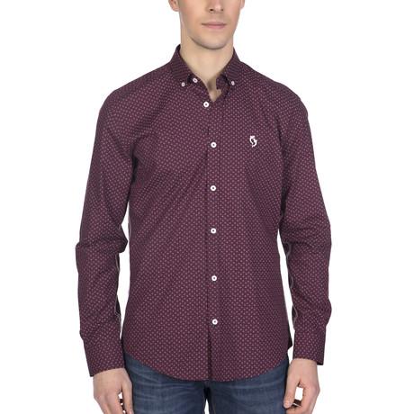 Kolton High Quality Shirt // Bordeaux (XL)