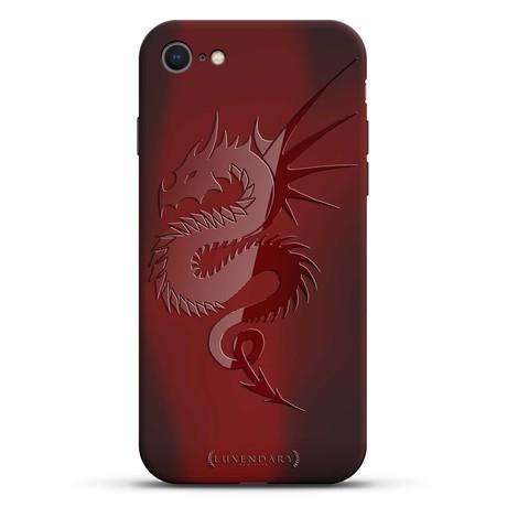 Spiky Cute Dragon Case + Screen Protector