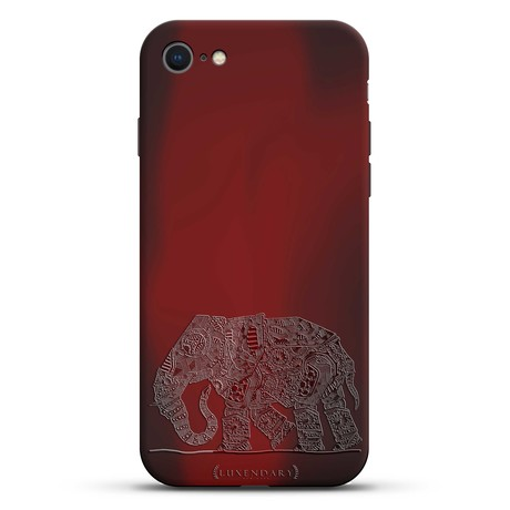 The Walking Paisley Elephant Case + Screen Protector