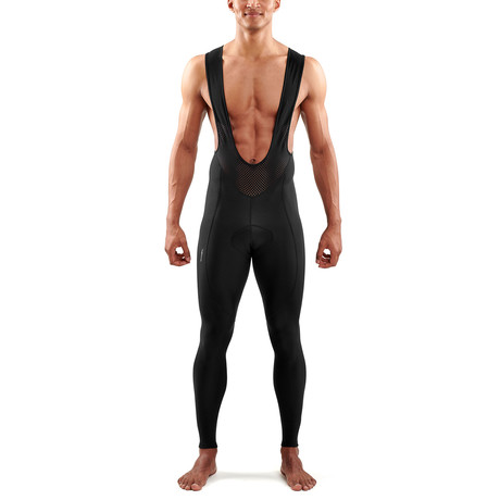 Cycle DNAmic Bib Long Tights // Black (Small)