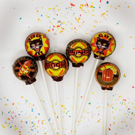 Fire Cracker Lollipop