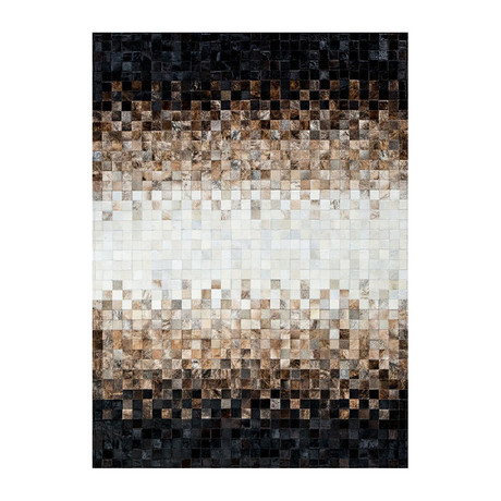 Pampera Rug // Mirror Cocoa (5'L x 8'W)