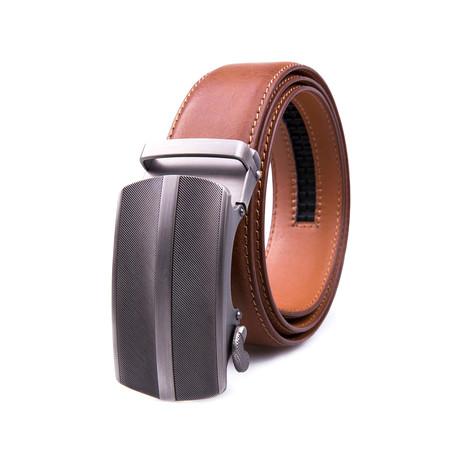 Automatic Buckle Dress Belt 2061 // Cognac
