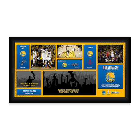 2018 NBA Champion Golden State Warriors // 10 x 20 Road To The Championship