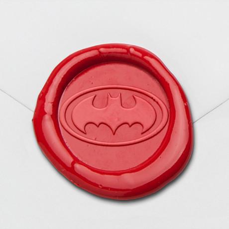 Bat In Flight Wax Seal Stamp Kit (Beech Handle)