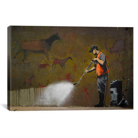 Cave Painting // Banksy