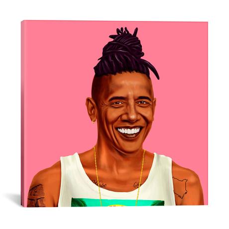 "Barack Obama // Amit Shimoni (18""W x 18""H x 0.75""D)"