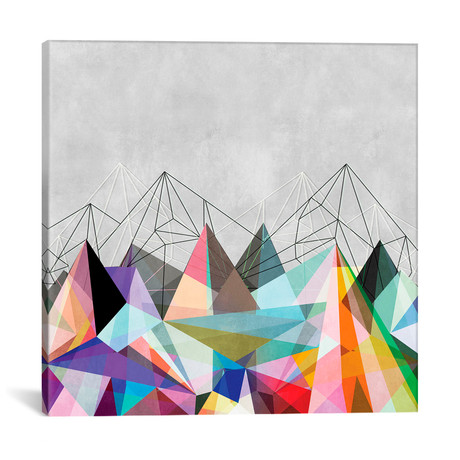 "Colorflash III // Mareike Bohmer (12""W x 12""H x 0.75""D)"