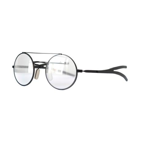 Activist Eyewear // Model 10.03 Round Frame // Matte Black