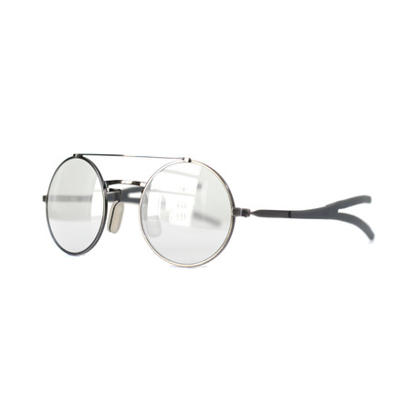 Activist Eyewear // Model 10.03 Round Frame // Brushed Antique Pewter