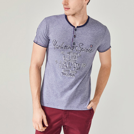 Beau T-Shirt // Navy