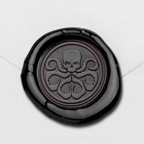 Hydra Wax Seal Stamp Kit (Beech Handle)