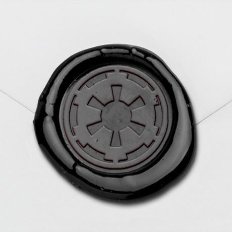 Galactic Empire Wax Seal Stamp Kit (Beech Handle)
