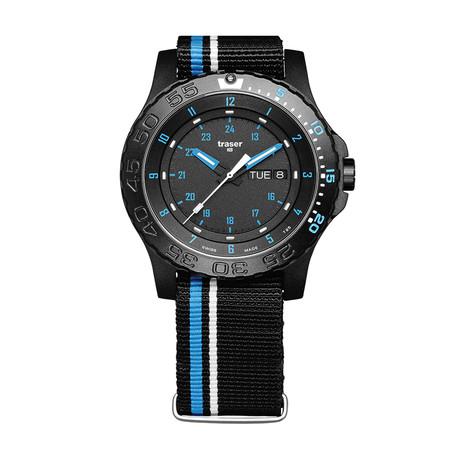 Traser P66 Blue Infinity Quartz // 105545
