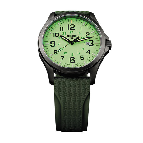 Traser P67 Officer Pro GunMetal Lime Quartz // 107424