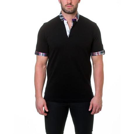 Picque Fiber Polo // Black (S)