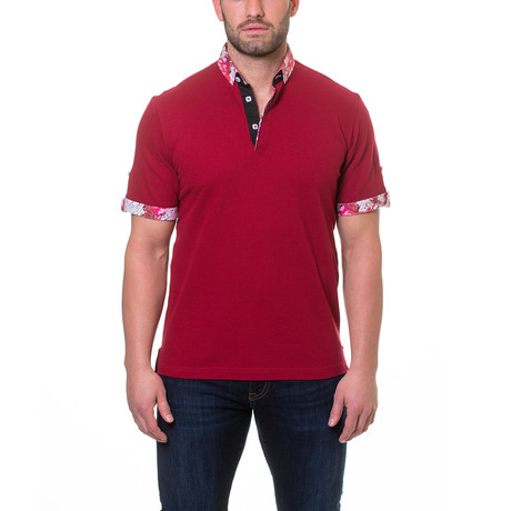 Picque Polo // Burgundy (XL)