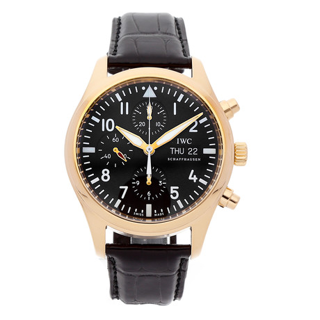 IWC Pilot's Watch Chronograph Automatic // IW3717-13 // Pre-Owned