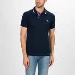 Denver Short Sleeve Polo Shirt // Navy (S)