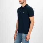 Dover Short Sleeve Polo Shirt // Navy (M)