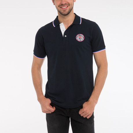 Boston Short Sleeve Polo Shirt // Navy (S)