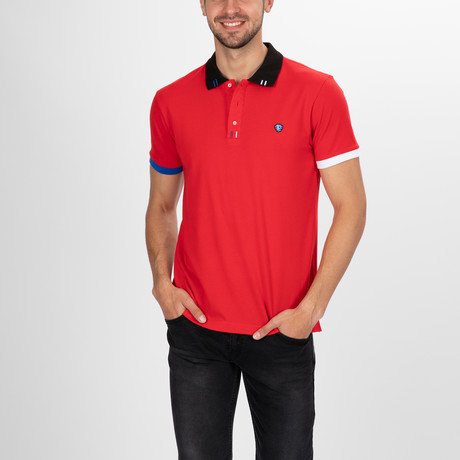 Pierre Polo Shirt SS // Red