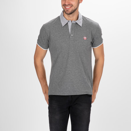 Nashville Polo Shirt SS // Anthracite