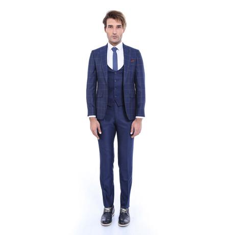 Floyd 3-Piece Slim-Fit Suit // Navy