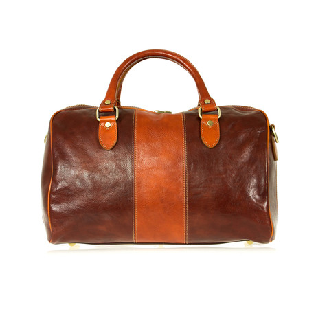Amerigo Bag // Brown + Cognac