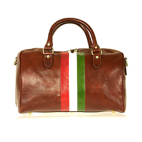 Mameli Bag // Brown + Flag