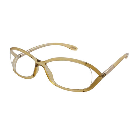 Women's FT5045 Optical Frames // Clear Brown