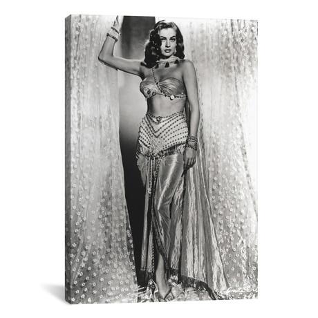 Anita Ekberg Posed In Sexy Dress // Movie Star News