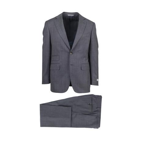 Wool Slim Fit Suit // Gray