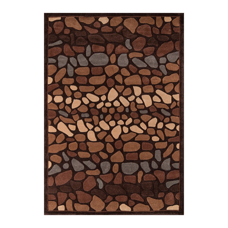 Pebbles Rug // Multi (5'L x 7.5'W)