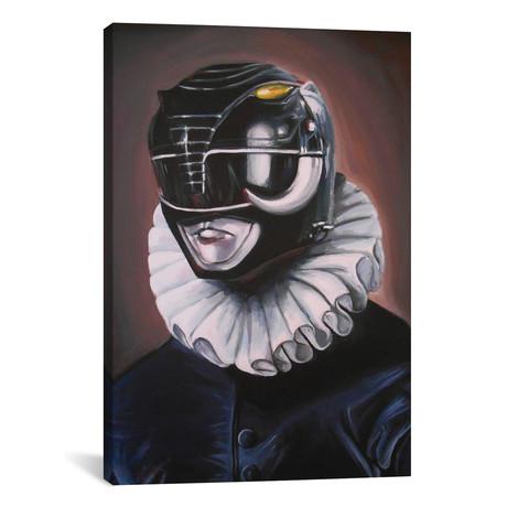 """Portrait of a Black Ranger (18""""W x 26""""H x 0.75""""D)"""
