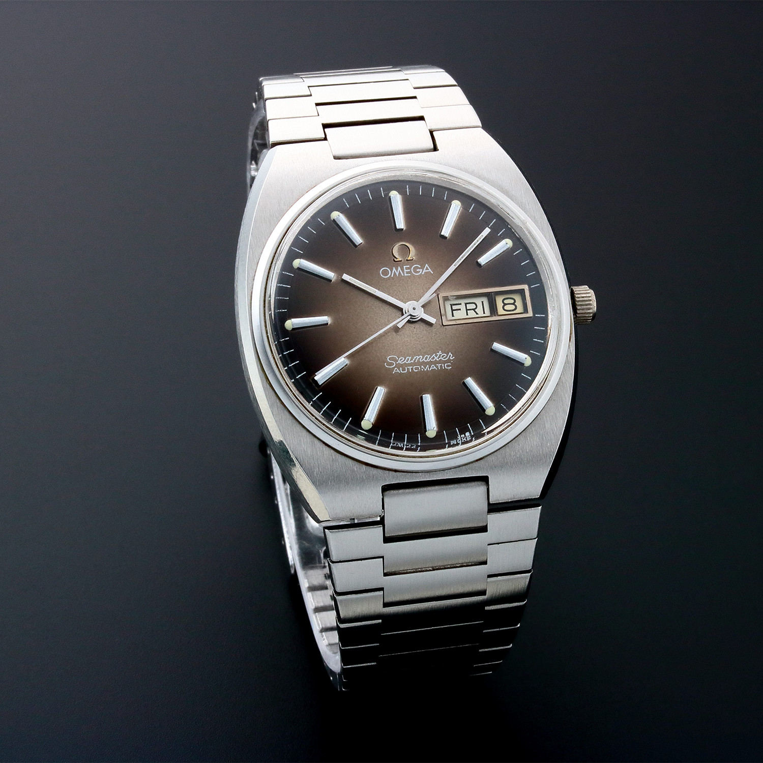 Omega Seamaster Day Automatic // Pre-Owned - Masterful ...