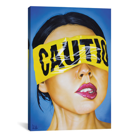 "Cautionary Tale (18""W x 26""H x 0.75""D)"
