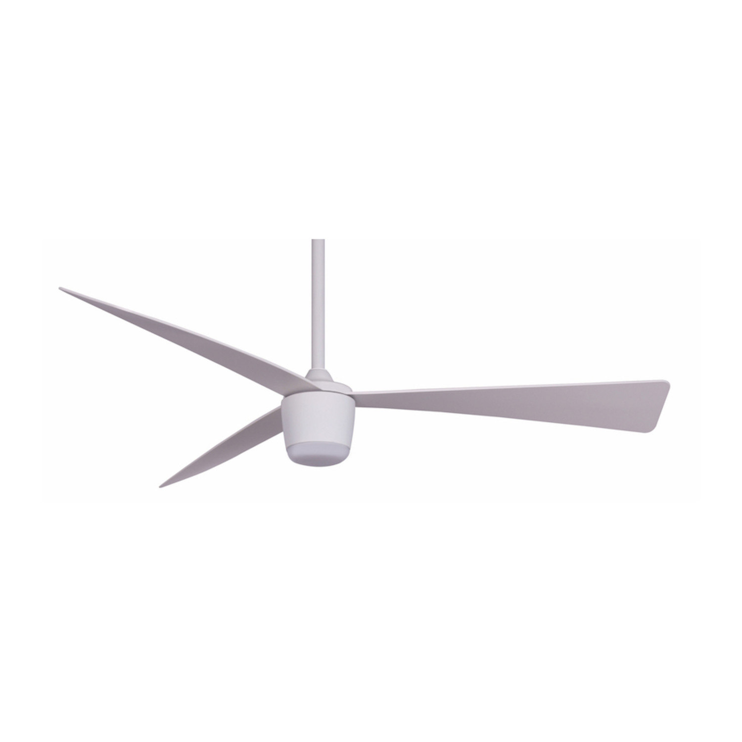 Star 7 Modern Ceiling Fan Led Light White