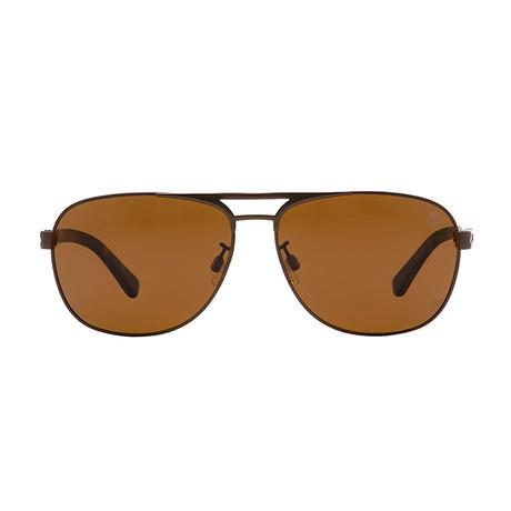 5607cd29446 Timberland Sunglasses    TB9100    Dark Brown    Polarized